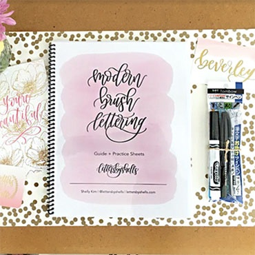Modern Brush Lettering Workshop (PRE-REGISTRATION FULL)