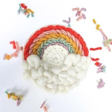 Round Weaving 101-Rainbow