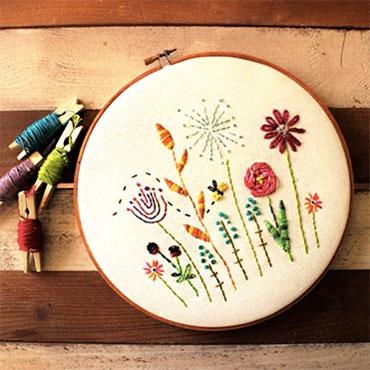Hoop Art Embroidery