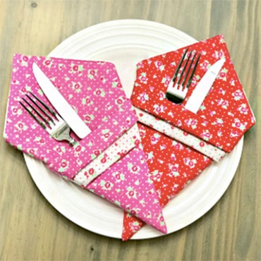 Eco Friendly Reversible Cloth Napkins
