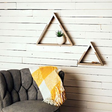 Boho Triangle Shelf