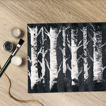 Acrylic Trees