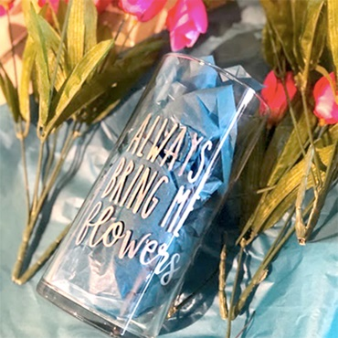 Glass Etching Tutorial and Vase