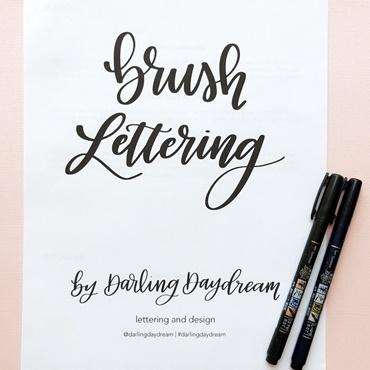 Beginners Brush Lettering